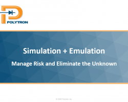 Simulation + Emulation PwerPoint